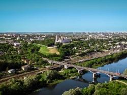 На какой реке стоит Владимир?